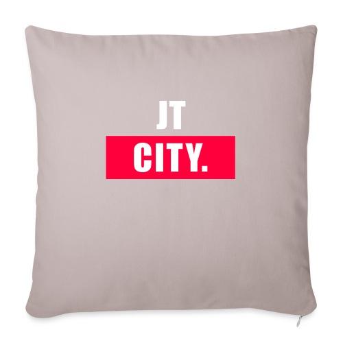 JT CITY - Sierkussenhoes, 45 x 45 cm
