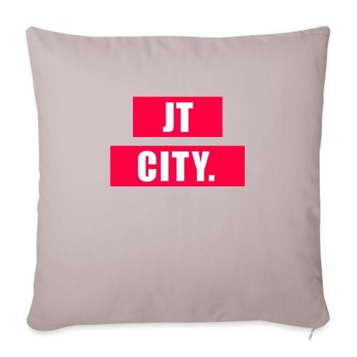 JT CITY RED ANDERS - Sierkussenhoes, 45 x 45 cm