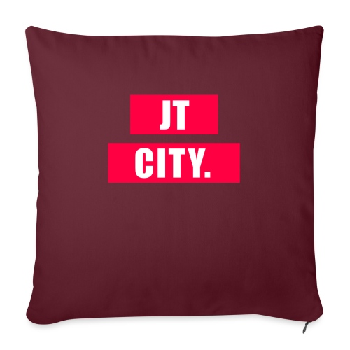 JT CITY RED ANDERS - Sierkussenhoes, 45 x 45 cm