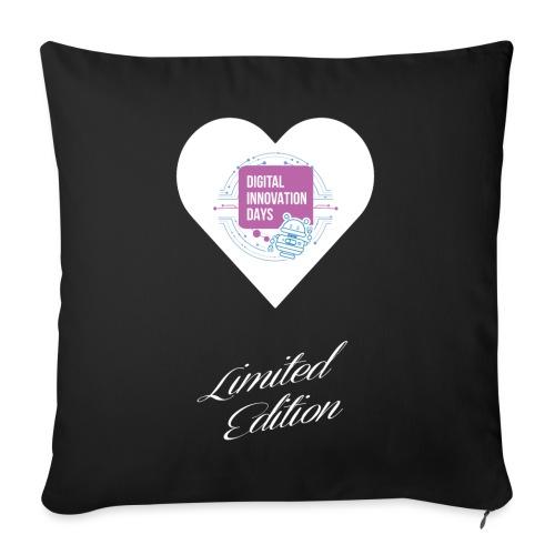 Heart Digital Innovation Days - Copricuscino per divano, 45 x 45 cm