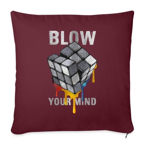 Rubik's Cube Blow Your Mind - Sofa pillowcase 17,3'' x 17,3'' (45 x 45 cm)