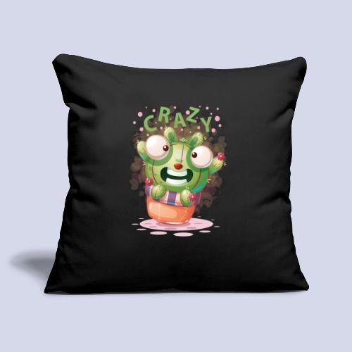 Crazy funny monster design for everyone - Sofa pillowcase 17,3'' x 17,3'' (45 x 45 cm)