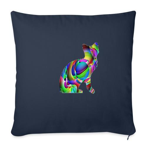 chat joueur - Housse de coussin décorative 45x 45cm