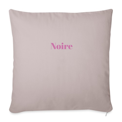 Noire - Sofa pillowcase 17,3'' x 17,3'' (45 x 45 cm)