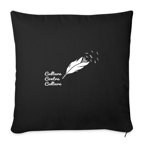 Culture contre Culture (version light, par éoline) - Housse de coussin décorative 45x 45cm