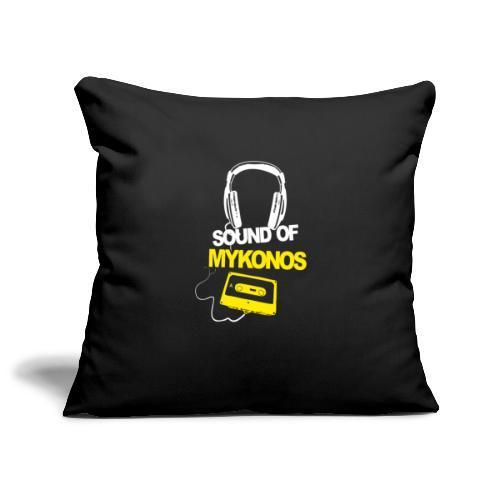 Mykonos Sound - Housse de coussin décorative 45x 45cm