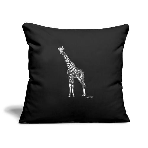 White Girafe by Joaquín - Housse de coussin décorative 45x 45cm