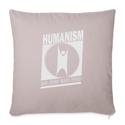 Humanism - Sofa pillowcase 17,3'' x 17,3'' (45 x 45 cm)