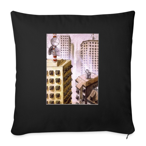TV Nation - Sofa pillowcase 17,3'' x 17,3'' (45 x 45 cm)