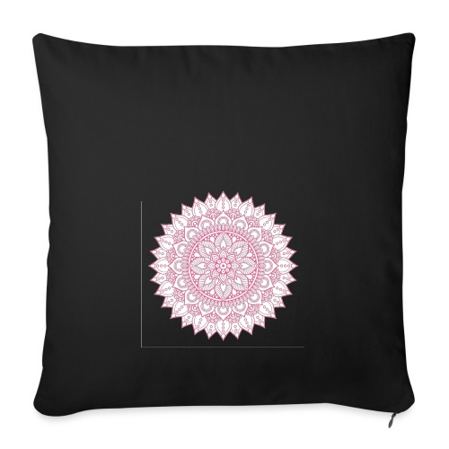 Mandala - Sofa pillowcase 17,3'' x 17,3'' (45 x 45 cm)