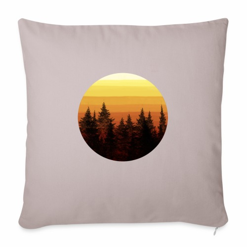 sunset - Housse de coussin décorative 45x 45cm