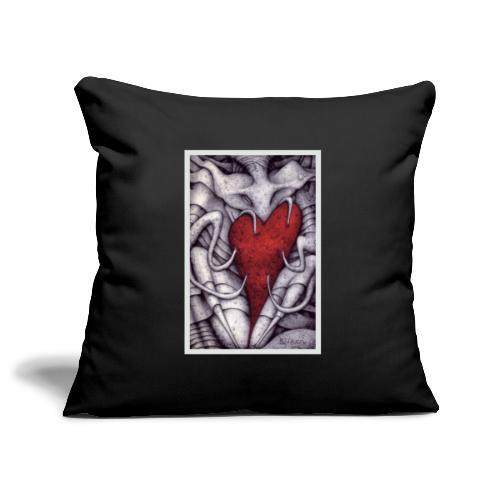 Demoni in Amore - Copricuscino per divano, 45 x 45 cm