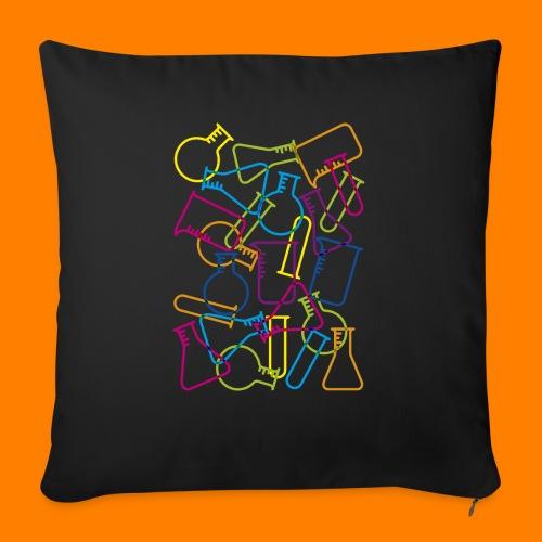 Large Laboratory Glassware - Sofa pillowcase 17,3'' x 17,3'' (45 x 45 cm)