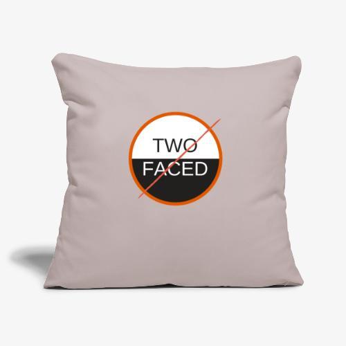 TWO FACED - Soffkuddsöverdrag, 45 x 45 cm