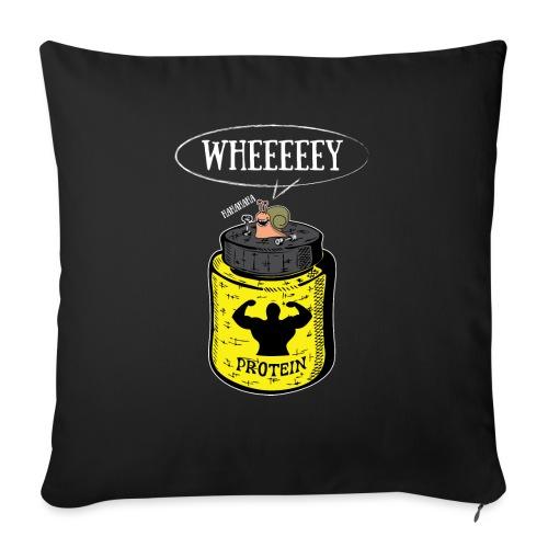 Escargot Wheeeeeeey - Housse de coussin décorative 45x 45cm
