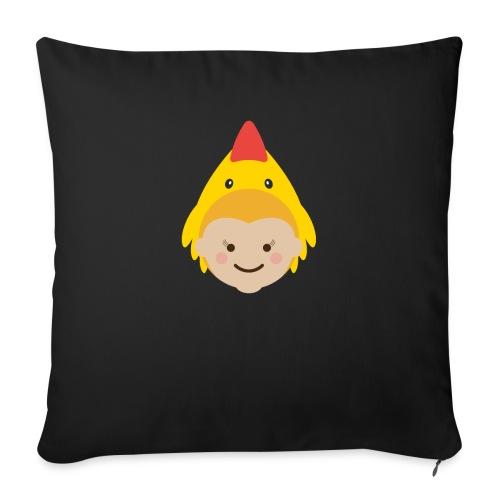 Lola the Chicken | Ibbleobble - Sofa pillowcase 17,3'' x 17,3'' (45 x 45 cm)