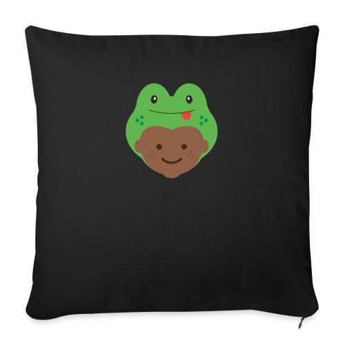 Tom the Frog | Ibbleobble - Sofa pillowcase 17,3'' x 17,3'' (45 x 45 cm)