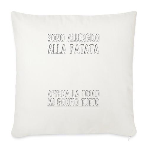 Patata - Copricuscino per divano, 45 x 45 cm