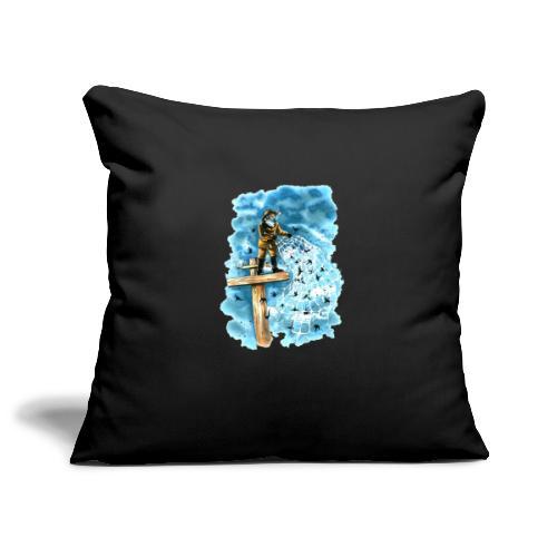 after the storm - Sofa pillowcase 17,3'' x 17,3'' (45 x 45 cm)