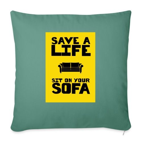 Save A Life - Sierkussenhoes, 45 x 45 cm