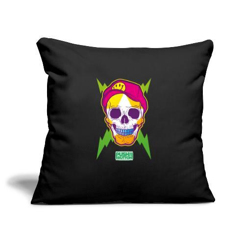 Ptb skullhead - Sofa pillowcase 17,3'' x 17,3'' (45 x 45 cm)