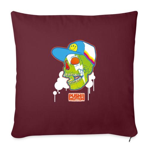 Ptb Skullhead 2 - Sofa pillowcase 17,3'' x 17,3'' (45 x 45 cm)