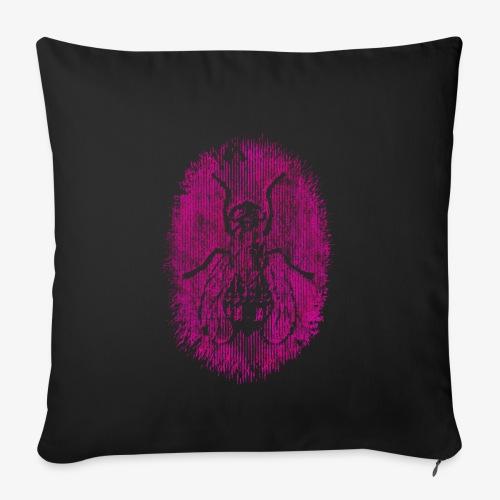 Fluga Pink - Soffkuddsöverdrag, 45 x 45 cm