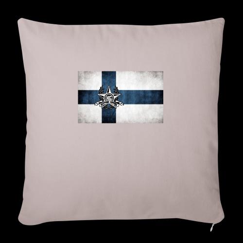 Suomen lippu - Sohvatyynyn päällinen 45 x 45 cm
