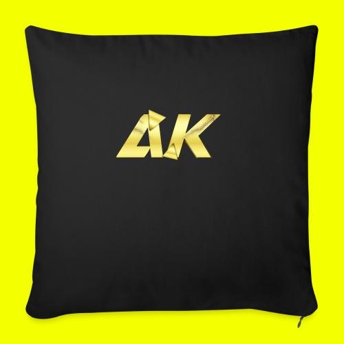AK Logo - Sofa pillowcase 17,3'' x 17,3'' (45 x 45 cm)