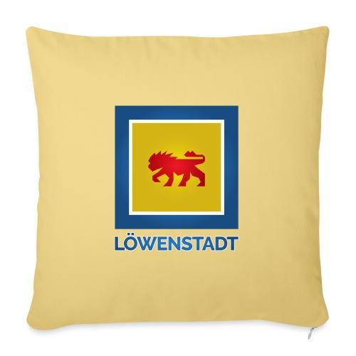 Löwenstadt Fan Design 11 - Sofakissenbezug 44 x 44 cm