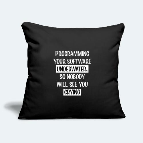 Programming Software Geschenk für Informatiker - Sofakissenbezug 44 x 44 cm