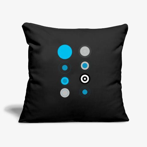 Cerchi - Copricuscino per divano, 45 x 45 cm
