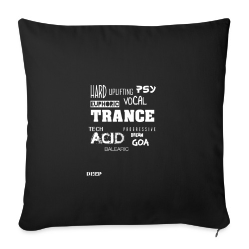 TRANCE Stylez - Sofa pillowcase 17,3'' x 17,3'' (45 x 45 cm)