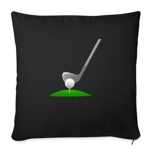 Golf Ball PNG - Funda de cojín, 45 x 45 cm