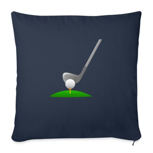 Golf Ball PNG - Funda de cojín, 45 x 45 cm