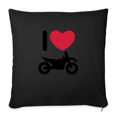 I love biking - Sofakissenbezug 44 x 44 cm