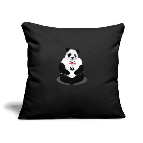 panda hd - Housse de coussin décorative 45x 45cm