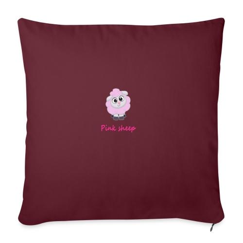 pink sheep - Sofakissenbezug 44 x 44 cm