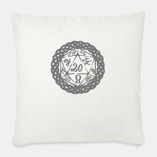 D20 Geschenk Glücksbringer Rollenspiel Würfel - Sofa pillowcase 17,3'' x 17,3'' (45 x 45 cm)