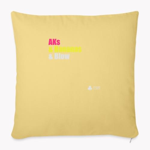 AKs & Bananas & Blow - Sofakissenbezug 44 x 44 cm