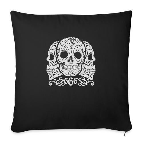 Skull Dia de los muertos - Housse de coussin décorative 45x 45cm