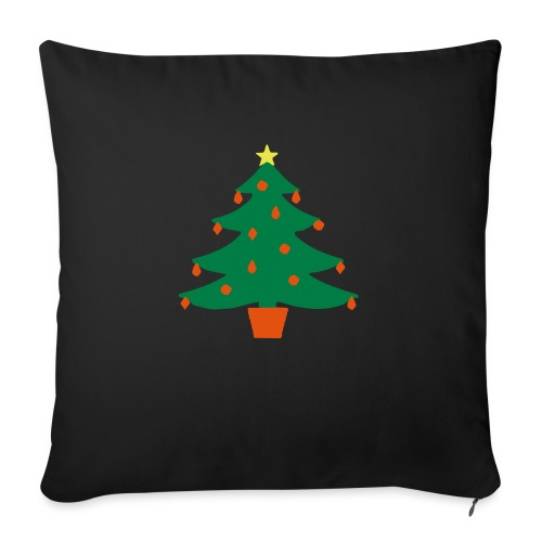Christmas Tree - Sofa pillowcase 17,3'' x 17,3'' (45 x 45 cm)