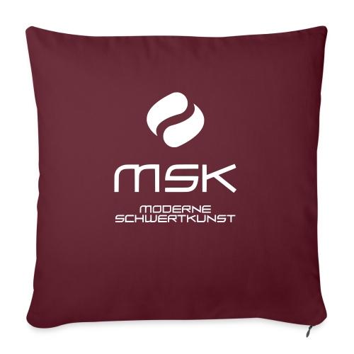 Logo_mit_schrift_2zeilig_ - Sofakissenbezug 44 x 44 cm