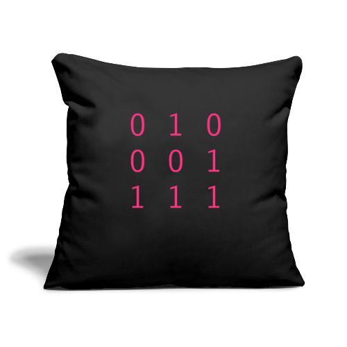 Hacker Emblem - Sofa pillowcase 17,3'' x 17,3'' (45 x 45 cm)