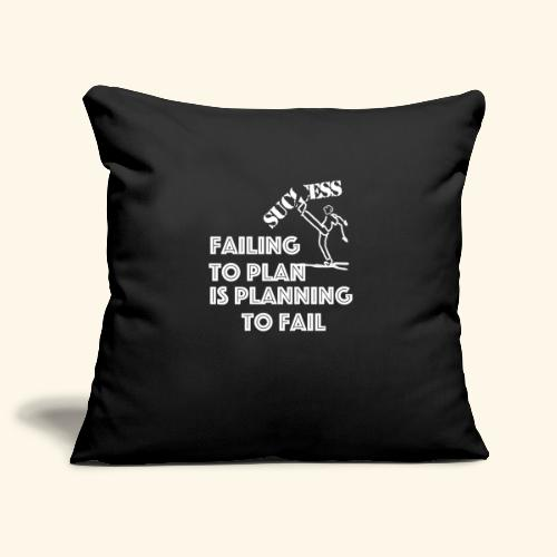Designed T-Shirt failing to plan brings to fail - Copricuscino per divano, 45 x 45 cm