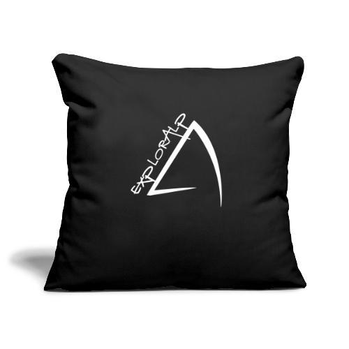 logo - Sofa pillowcase 17,3'' x 17,3'' (45 x 45 cm)
