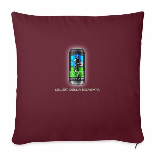 Nafta Energy Drink - Copricuscino per divano, 45 x 45 cm