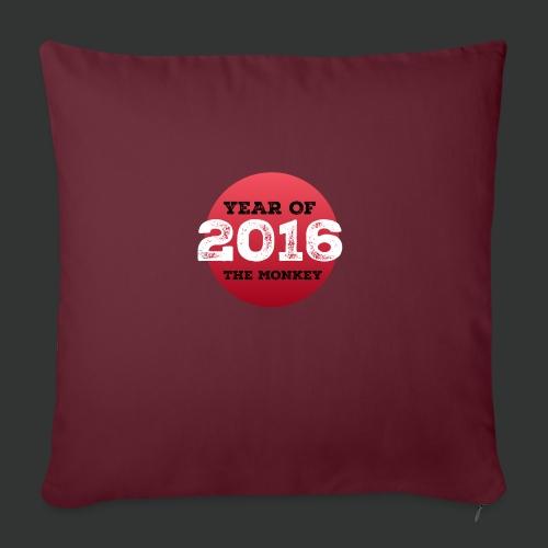 2016 year of the monkey - Sofa pillowcase 17,3'' x 17,3'' (45 x 45 cm)