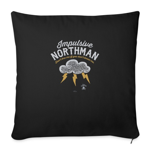 Impulsive Northman - Pudebetræk 45 x 45 cm