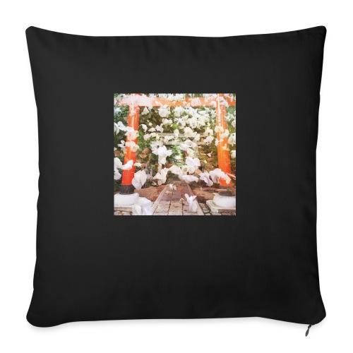 見ぬが花 Imagination is more beautiful than vi - Sofa pillowcase 17,3'' x 17,3'' (45 x 45 cm)